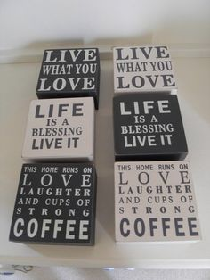 WOODEN SLOGAN TRINKET BOX GREY OR CREAM LIFE LOVE LIVE LAUGHTER CHIC N SHABBY