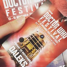 Yes I am a Dalek today #Dalek #doctorwho #ExCelLondon #doctorwhofestival #ticket @danpaxto #figures