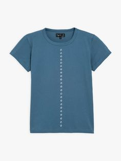t-shirt brando Benoit Jammes bleu T Shirt, Collection, Tops, Women, Fashion, Supreme T Shirt, Moda, Tee, Women's