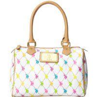 U.S. Polo Assn. Revival Large Satchel Top Handle Bag c57edf3473817