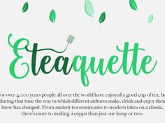 How tea is served around the world [INFOGRAPHIC]