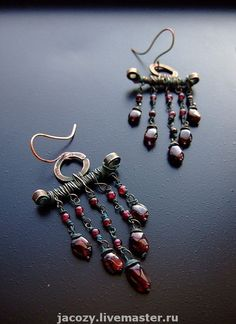 wirework earrings by Jacozy