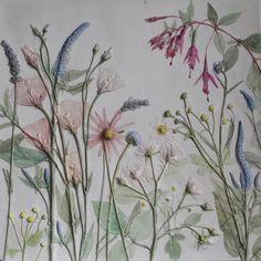 Post Title: Wonderful plaster cast tiles of flowers by Rachel Dein of Tactile Studio Post URL: http://flowerona.com/2014/04/wonderful-plaster-cast-tiles-of-flowers-by-rachel-dein-of-tactile-studio/