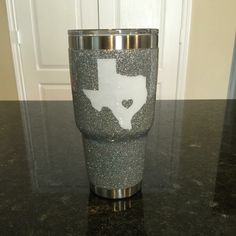 Glitter YETI Rambler Tumbler (30 oz) with decal! by ARanchersDaughter on Etsy https://www.etsy.com/listing/245754155/glitter-yeti-rambler-tumbler-30-oz-with