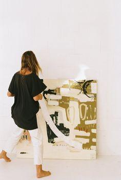 Studio Four — Ashleigh Holmes Art City And Colour, My Art Studio, Exhibition, Large Art, Art Techniques, Female Art, Art Pictures, Art Inspo, Art Photography