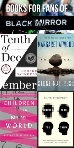 Great books to read if you love the show Black Mirror.