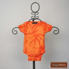 Tie Dye Bodysuit - Orange