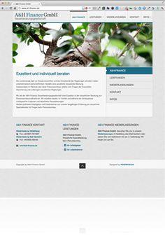 Referenz Webdesign der Fa. FENOMICS GmbH