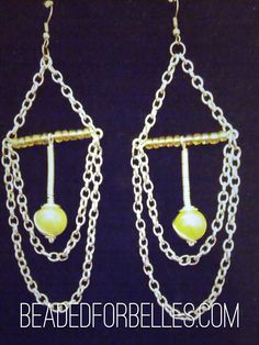 TO BUY: Comment with your email address, and you'll receive a secure checkout link OR you can shop directly from my online store athttp://BeadedForBelles.com/    Price: $8.00.    Earrings hang about 5 inches long! If you live in Columbia, SC or close surrounding areas enter discount code COLA1 for FREE SHIPPING!    Comment#subscribe+ your email address to subscribe to instant updates via email when we post new products!    Shop this post and others athttp://spreesy.com/beadedforbelles…