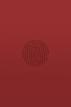 touch-id-red | download iPhone iPad wallpaper at freeios7.com
