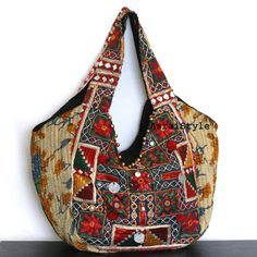 Ethnic textiles on Tote bag
