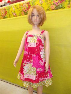 Nos clientes ont du talent : on aime cette petite robe d'été pour fillette !