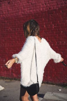 Silver_Lake-Leather_Mini_Skirt-Urban_Outfitters-Fluffy_Jacket-Outfit-Street_Style-Los_Angeles-18