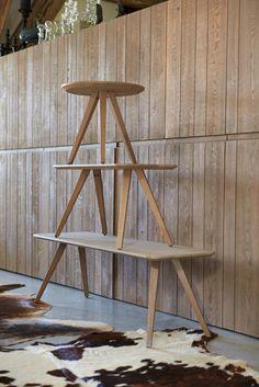 Buzzy side tables in oak