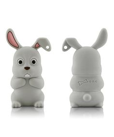 Look what I found on #zulily! Rabbit 8 GB USB Drive & Changeable Cover by Bone #zulilyfinds