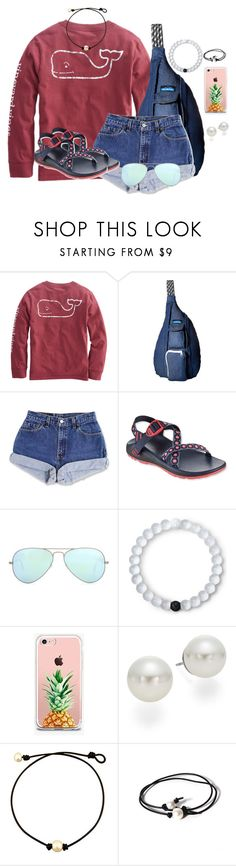 """""""Set #2 By My Little Brother!"""" by annaewakefield ❤ liked on Polyvore featuring Kavu, Chaco, Ray-Ban, Lokai, The Casery, AK Anne Klein and Joie"""
