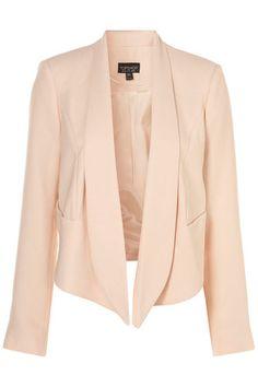 Peach Blazer. Light Pink blazer