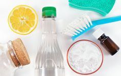 Etikka, suola ja sitruuna – luonnonmukaiset siivousaineet raikastavat ja puhdistavat kodin pinnat - Kotiliesi.fi