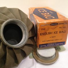 Davol English Ice Bag by Sunshineoftreasures on Etsy