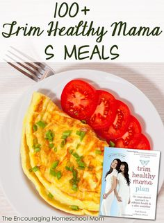 Healthy Recipes 100 Trim Healthy Mama S Meals - Low Carbs and High Fat Trim Healthy Mama Diet, Trim Healthy Recipes, Healthy Menu, Thm Recipes, Healthy Detox, Detox Recipes, Healthy Eating, Healthy Snacks, Clean Eating