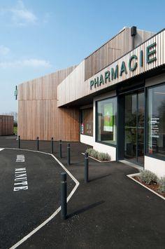 Pharmacy Store, Store Fronts, Store Design, Allah, Gate, Retail, Branding, Exterior, Urban
