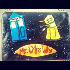 Dr. Who grooms cake