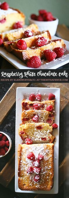 This Raspberry White Chocolate Pound Cake is the perfect way to start your day. Pin it now and make it later.