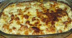 Am facut aseara reteta asta si vreau sa va spun ca este foarte buna si foarte satioasa, tava respectiva nu a rezistat mai mult de o jumatate... Romanian Food, Mai, Macaroni And Cheese, Ethnic Recipes, Pie, Mac And Cheese