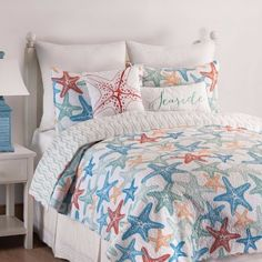 Coastal & Nautical Bedding Sales. All under $100