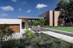 Matt Fajkus Architecture Designs a Home Incorporating Its Local Landscape in Austin, Texas