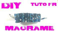 DIY - Tuto FR / Bracelet Serpentin en macramé