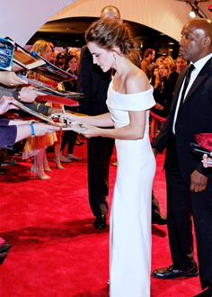 """"""" Emma Watson at the red carpet premiere launch of """"The Circle"""" during the 2017 Tribeca Film Festival on Wednesday, April 26, 2017, in New York City. """""""