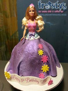 Barbie doll ice crea