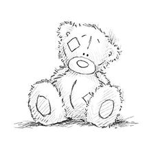Coloring Pages - Tatty Teddy Bear
