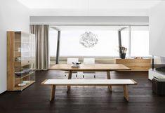 Modern home loft style dining set mahogany floors