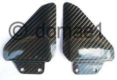 carbon fiber heel plates guards passenger rear Ducati 748 916 996 998 | eBay