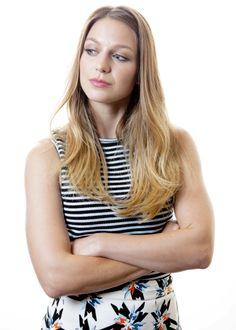 Melissa Benoist plays Kara Danvers in the new Super Girl series 2015.