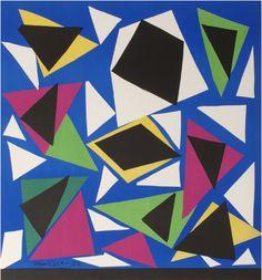 By Henri Matisse (1869-1954), 1952,  Centenaire de l'Imprimerie Mourlot: Exposition d'affiches, Paris.