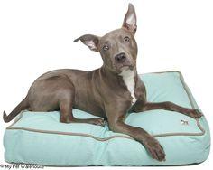 MOLLY MUTT DUVET DOG BED NIGHT SWIMMING HUGE 91X114X13CM