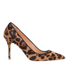 J.crew Collection Elsie Calf Hair Pumps in Brown (hazelnut leopard) | Lyst