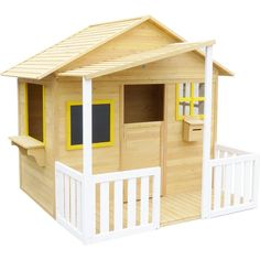 Camira Kids Wood Cubby House w Chalkboard & Mailbox - 9347166034472 For Sale, Buy from Cubby Houses collection at MyDeal for best discounts. Kids Cubby Houses, Kids Cubbies, Play Houses, Front Verandah, Timber House, Kids Wood, Closed Doors, Wooden Doors, Pallet Tables