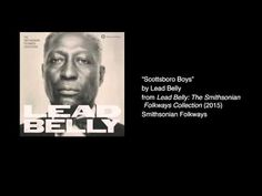 "Lead Belly - ""Scottsboro Boys"" This video features Lead Belly's ""Scottsboro Boys"" from the 2015 box set 'Lead Belly: The Smithsonian Folkways Collection'. For more information about this album click here: http://ift.tt/1rALfET and for more information about Smithsonian Folkways the non-profit record label of the national museum click here: http://ift.tt/1O0wv7G."