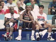 Jordan, Magic, & Stockton '92 Dream Team