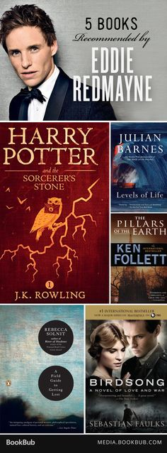 Love Eddie Redmayne? Check out these 5 books he recommends, including Harry Potter.