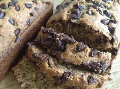 Chocolate chip zucchini bread...made this today and it is awesome...kids LOVE it!!  Julie