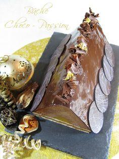 J'en reprendrai bien un bout...: Bûche Noël 2012 # 1 - Bûche Choco-Passion