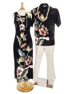Over 650 Hawaiian Dresses & Muumuu for Hawaiian Wedding, Hawaiian style party, Luau Party and Tropical Vacations! Hawaiian Party Outfit, Hawaiian Dresses, Tropical Dress, Tropical Flowers, Samoan Dress, Hawaii Outfits, Beach Outfits, Island Style Clothing, Luau Dress