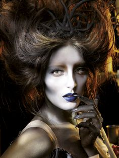 Art of Darkness makeup from the make up experts at Illamasqua