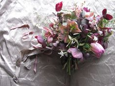 Winter bouquet  http://thebluecarrot.co.uk