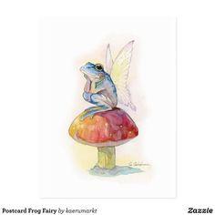 Fairy Drawings, Art Drawings Sketches, Cute Drawings, Mushroom Drawing, Mushroom Art, Arte Indie, Frog Drawing, Frog Art, Arte Sketchbook